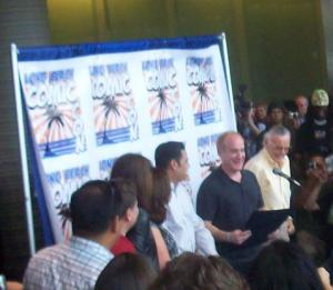 Jeph Loeb reads the Proclamation of Stan Lee Day!