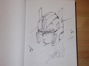 Optimus Prime by Livio Ramondelli, Wildstorm concept artist.