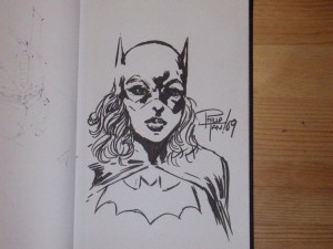 Batgirl by Phillip Tan, currently working on Batman & Robin