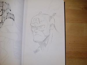 Captain America by Edward Nuñez Jr.