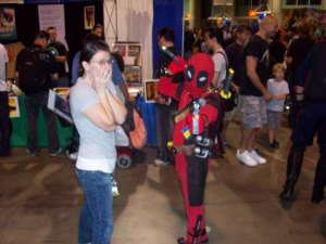 Maggie and the Littlest Deadpool.