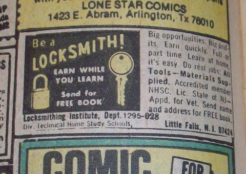Gee, I always wanted to be a locksmith!